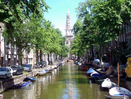 Canal, Amsterdam
