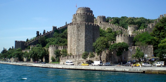 Rumelian Castle on the bank of the Bosphorus