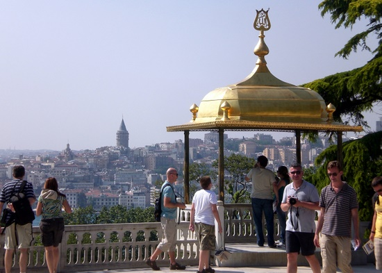 Topkapi Palace (Galata Tower in background)